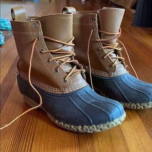 Lightly worn LL Bean boots